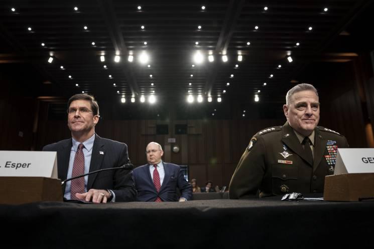 two men testify before Congress
