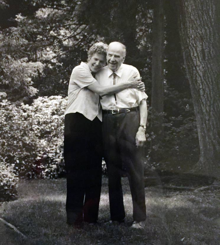 Tia and her late father Democratic Senator Gaylord Nelson