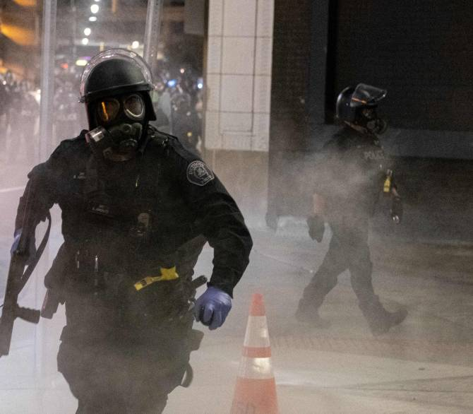 police officer running